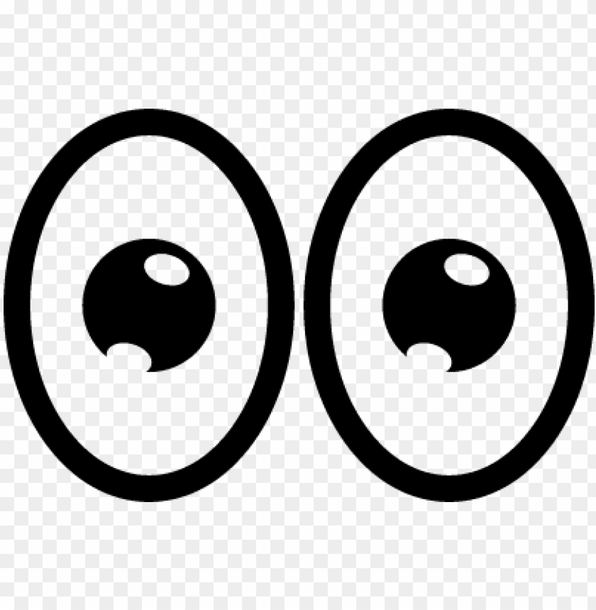 Cartoon Eyes Png Image With Transparent Background Toppng