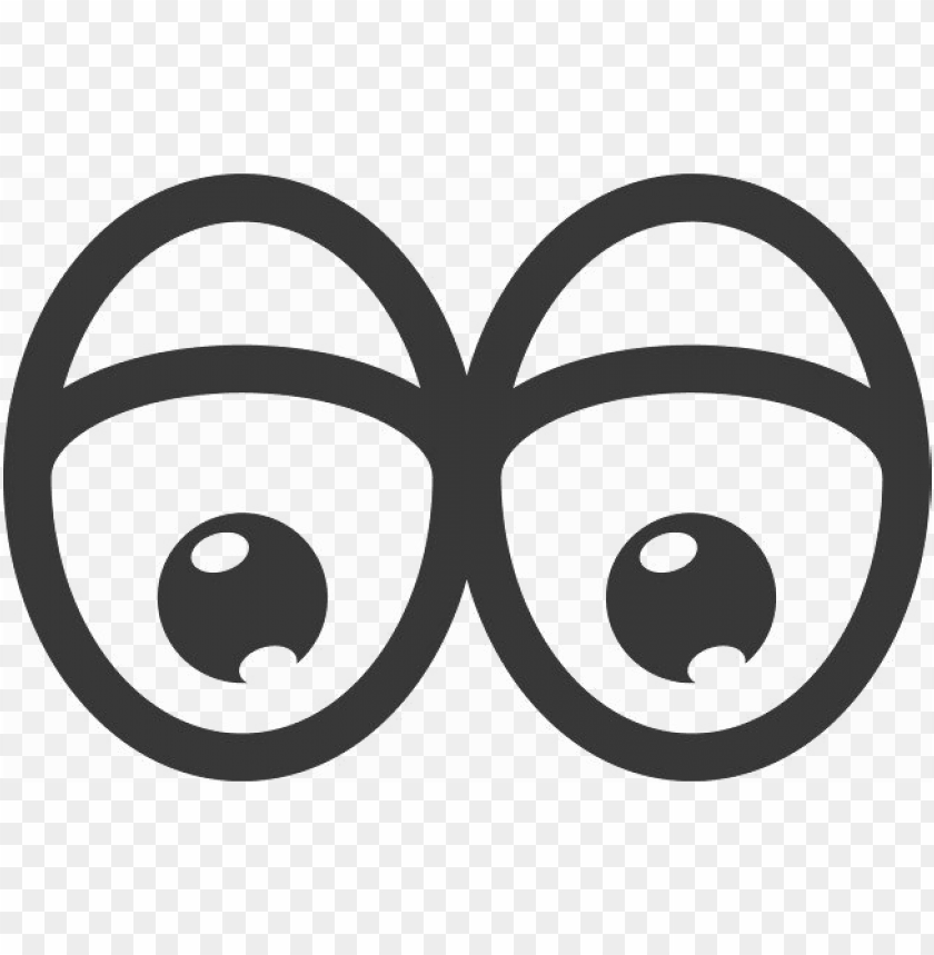 Cartoon Eyes Vector Png Image With Transparent Background Toppng