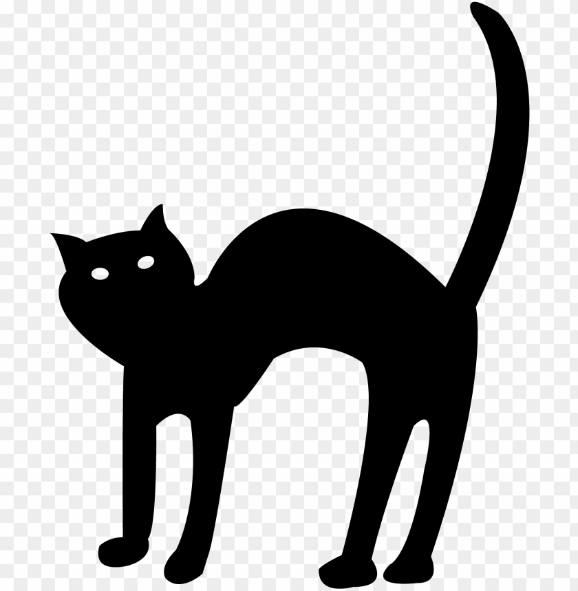 Cartoon Halloween Black Cat Png Image With Transparent Background Toppng See more ideas about black cat, crazy cats, cats and kittens. cartoon halloween black cat png image