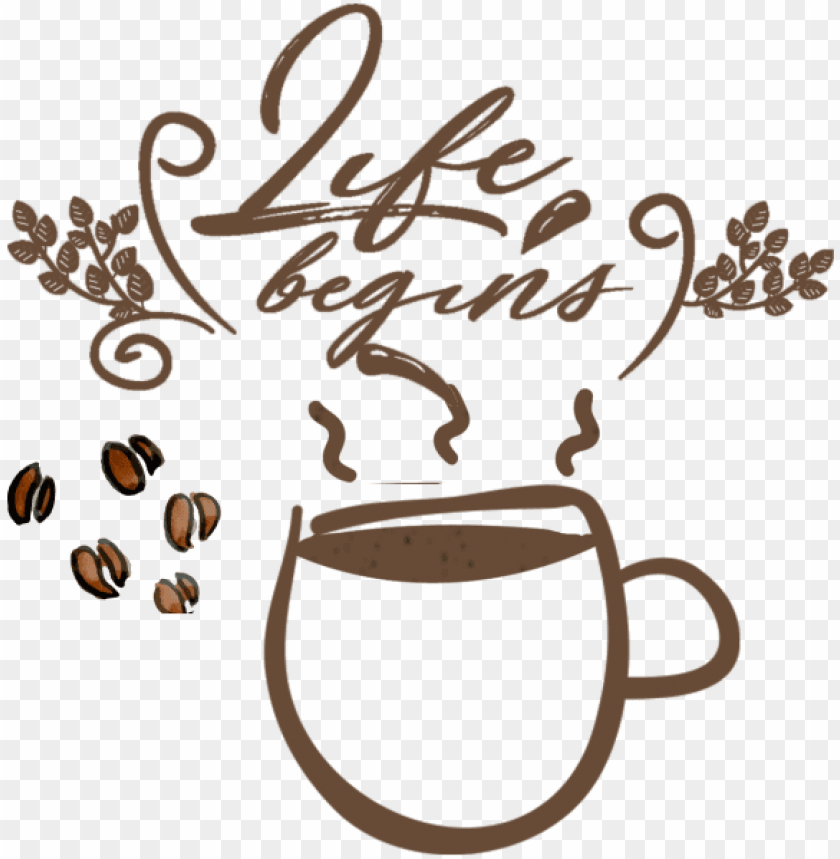 free PNG cartoon hand-painted coffee drink, coffee, drinks, - coffee leaf ilustration vector PNG image with transparent background PNG images transparent