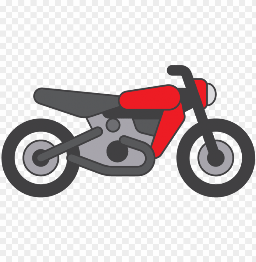 free PNG cartoon motorcycle vector png - motorcycle PNG image with transparent background PNG images transparent