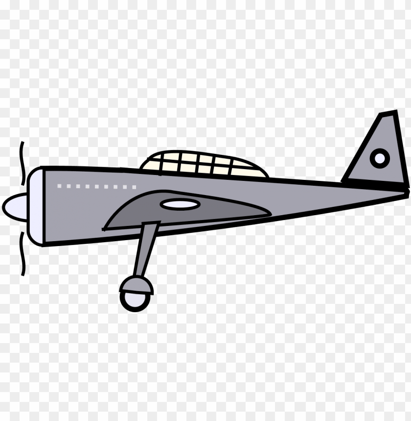 Cartoon Plane Png Image With Transparent Background Toppng