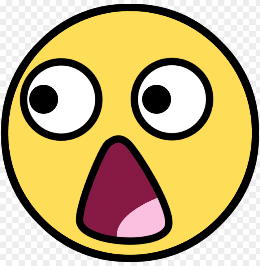 free PNG cartoon shocked face PNG image with transparent background PNG images transparent