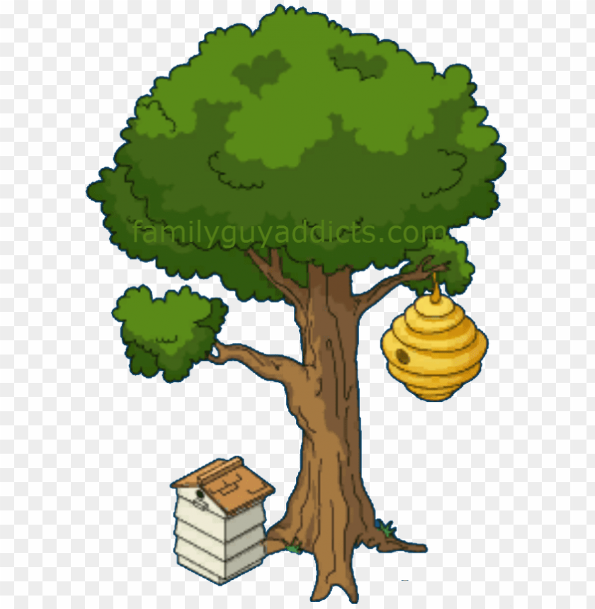 Cartoon Tree With Beehive Png Image With Transparent Background Toppng Download high quality bark cartoons from our collection of 41,940,205 cartoons. cartoon tree with beehive png image