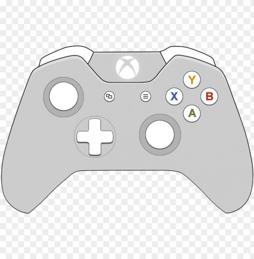 Cartoon Xbox One Controller Png Image With Transparent Background