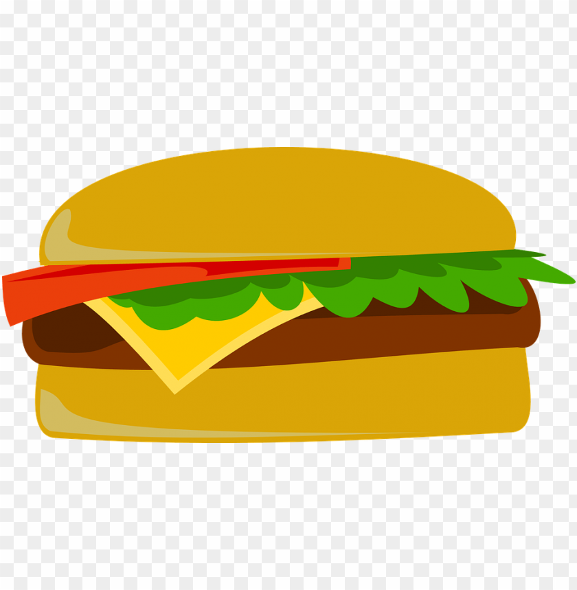 free PNG Download cartoonish hamburger png images background PNG images transparent