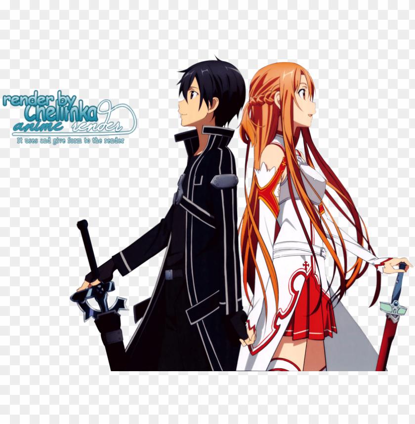 free PNG cartoons anime - sword art online PNG image with transparent background PNG images transparent