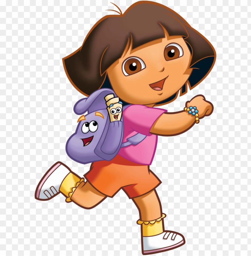 free PNG cartoons png - dora the explorer PNG image with transparent background PNG images transparent