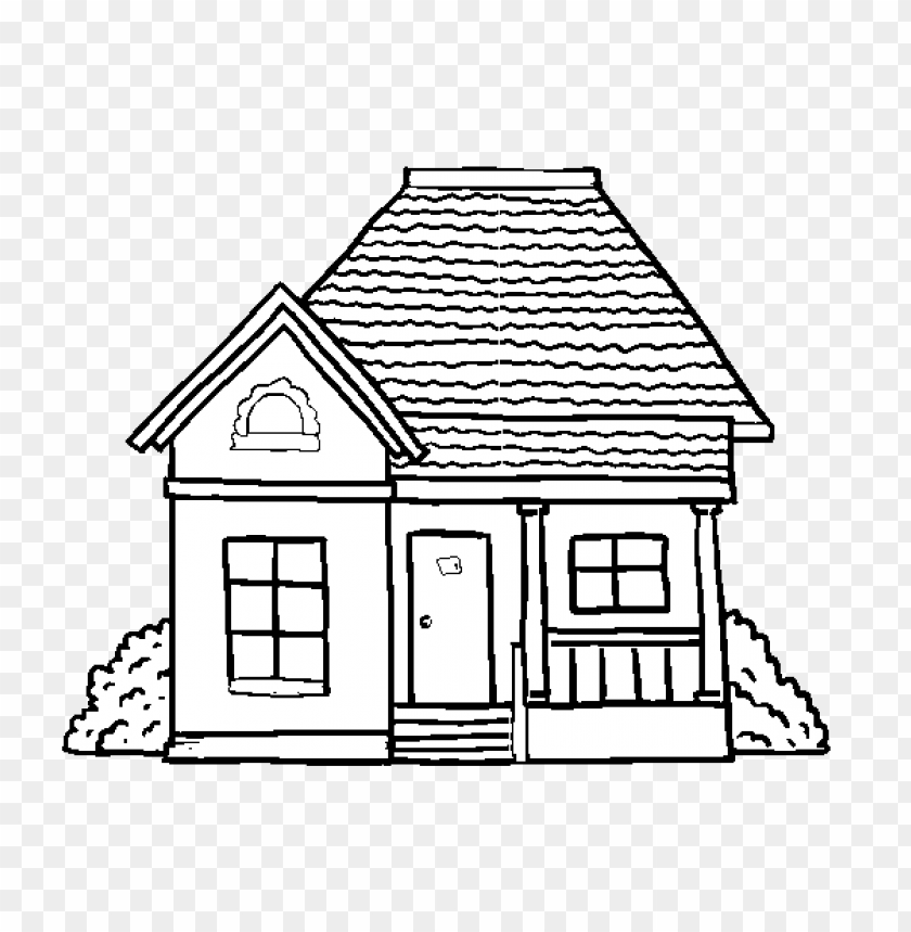 Casa Para Colorir Png Image With Transparent Background Toppng