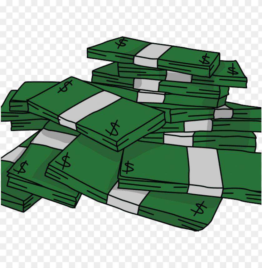 free PNG cash clipart cash stack - clipart stack of money PNG image with transparent background PNG images transparent