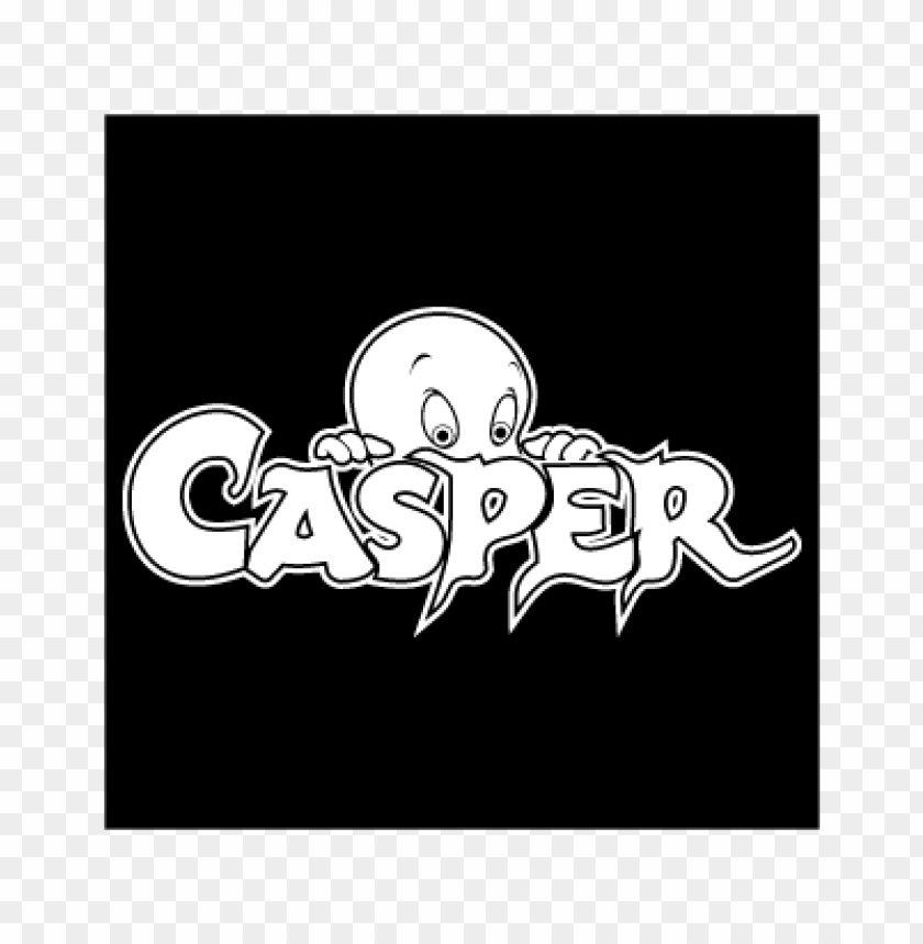 free PNG casper black vector logo PNG images transparent