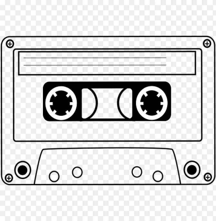 free PNG cassette tape audio music sound vintage pl - cassette tape clip art PNG image with transparent background PNG images transparent