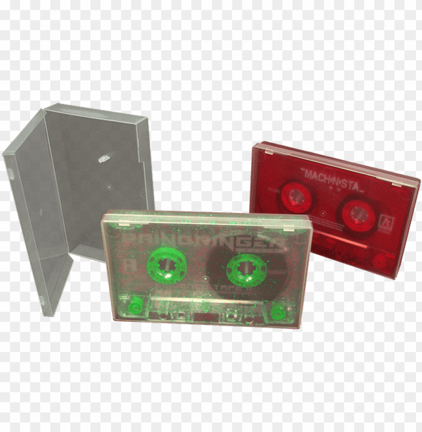 free PNG cassette tape duplication in clear polycases - purple clear cassette tape PNG image with transparent background PNG images transparent