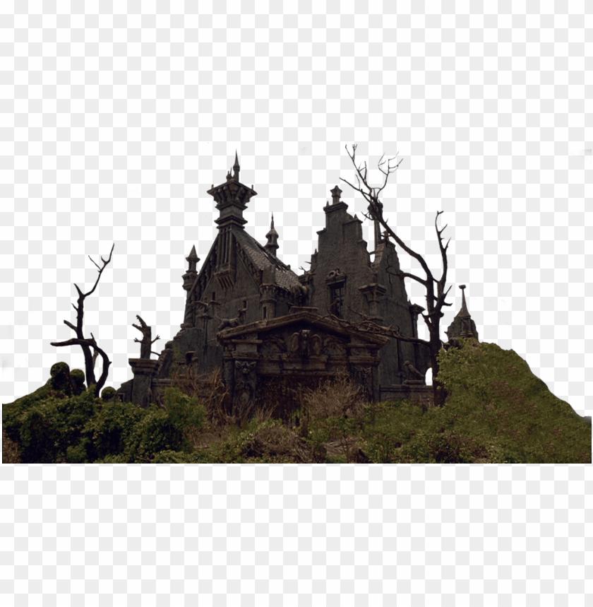 free PNG castle png clipart - edward scissorhands gothic castle PNG image with transparent background PNG images transparent