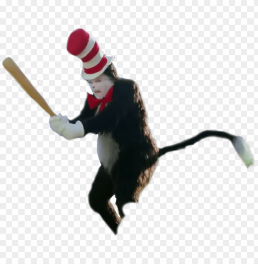 free PNG cat in the hat bat png clip library library - mike myers cat in the hat bat PNG image with transparent background PNG images transparent
