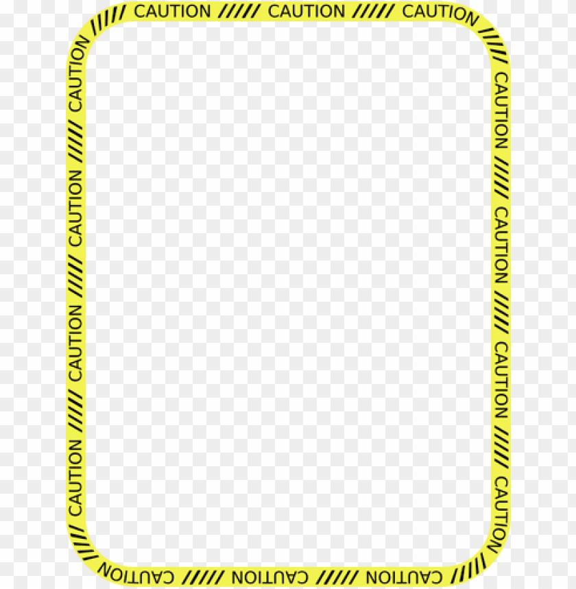 free PNG caution tape border - caution tape border clip art PNG image with transparent background PNG images transparent