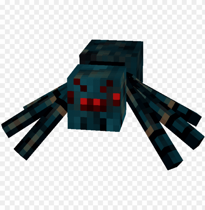 free PNG cave spider's poison you - cave spider minecraft PNG image with transparent background PNG images transparent