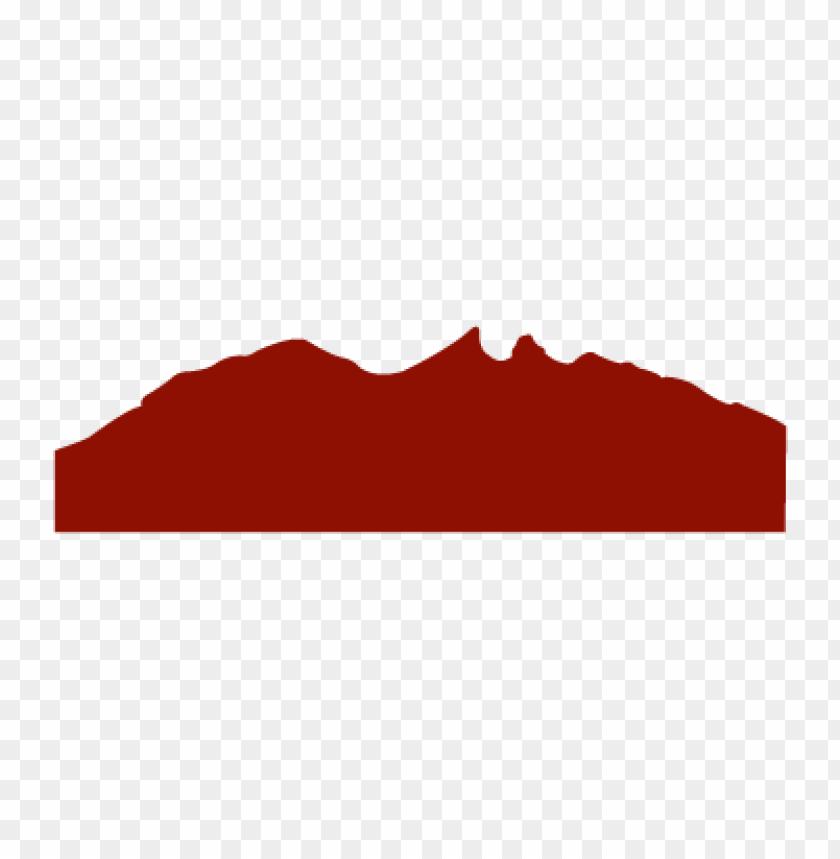 free PNG cerro de la silla vector logo PNG images transparent