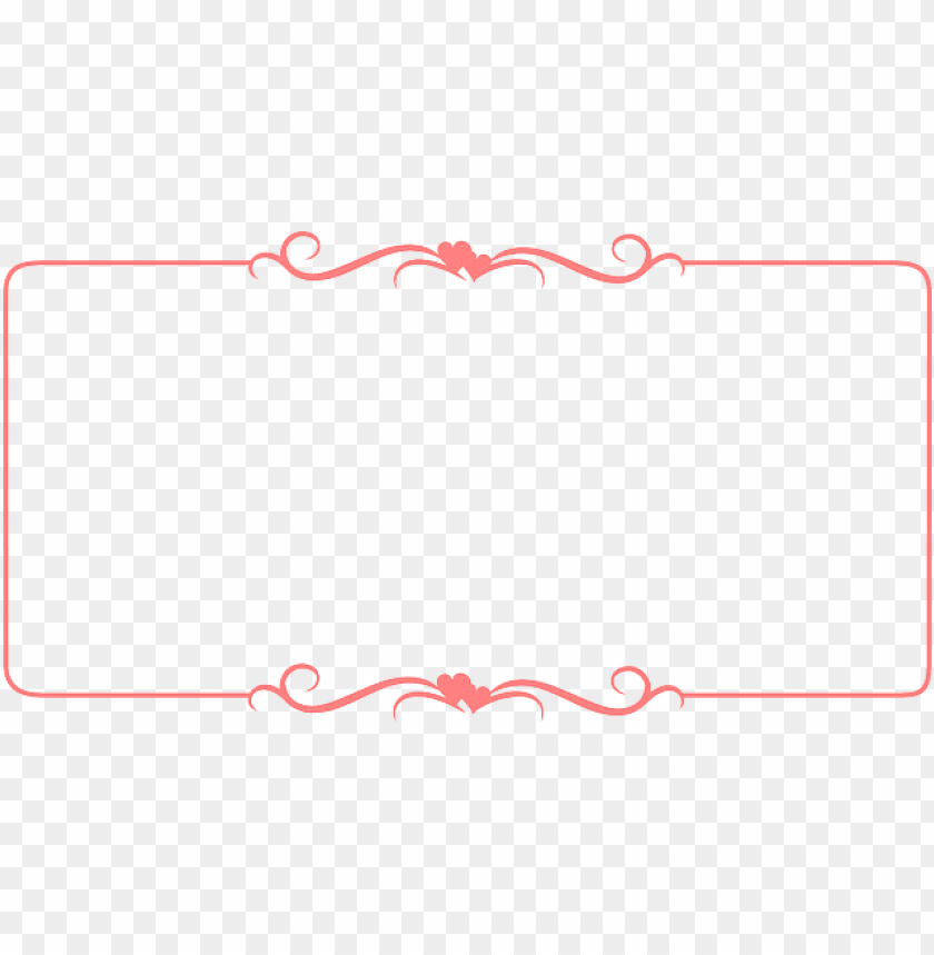 free PNG certificate, frame, hearted, red, ribbon - hearts border PNG image with transparent background PNG images transparent