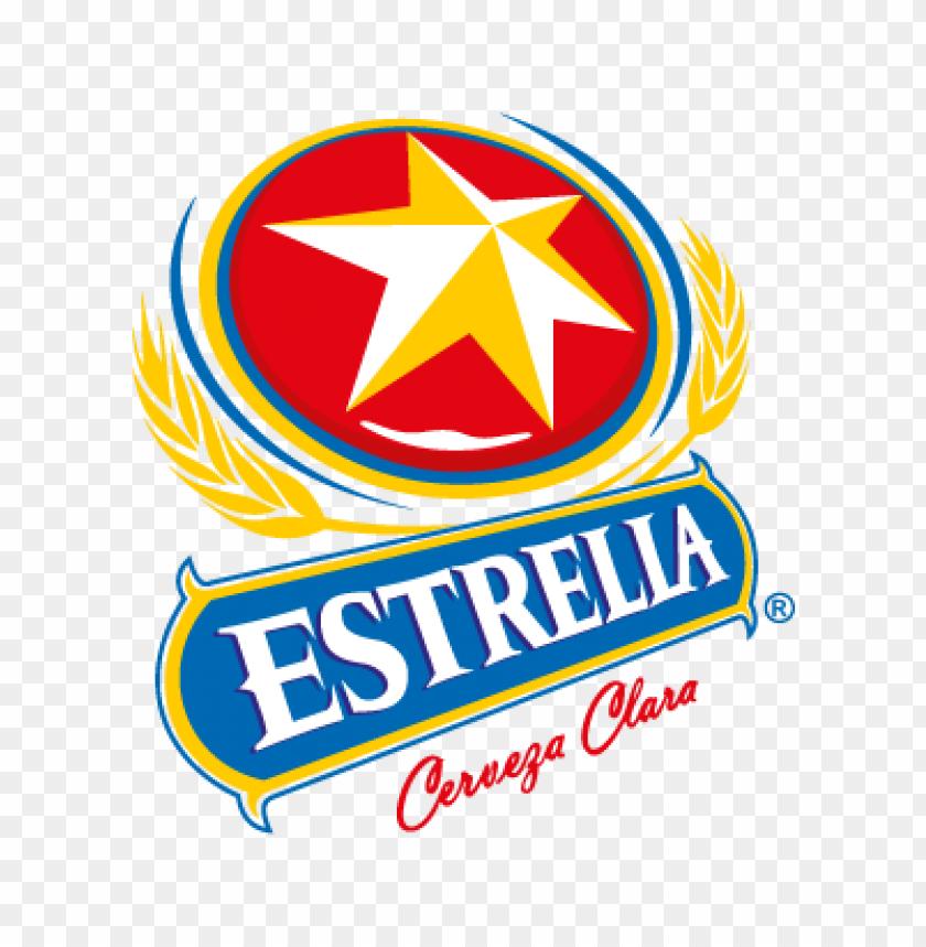 free PNG cervezas estrella vector logo PNG images transparent
