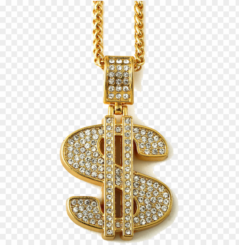 free PNG chain transparent dollar - gold chain money si PNG image with transparent background PNG images transparent