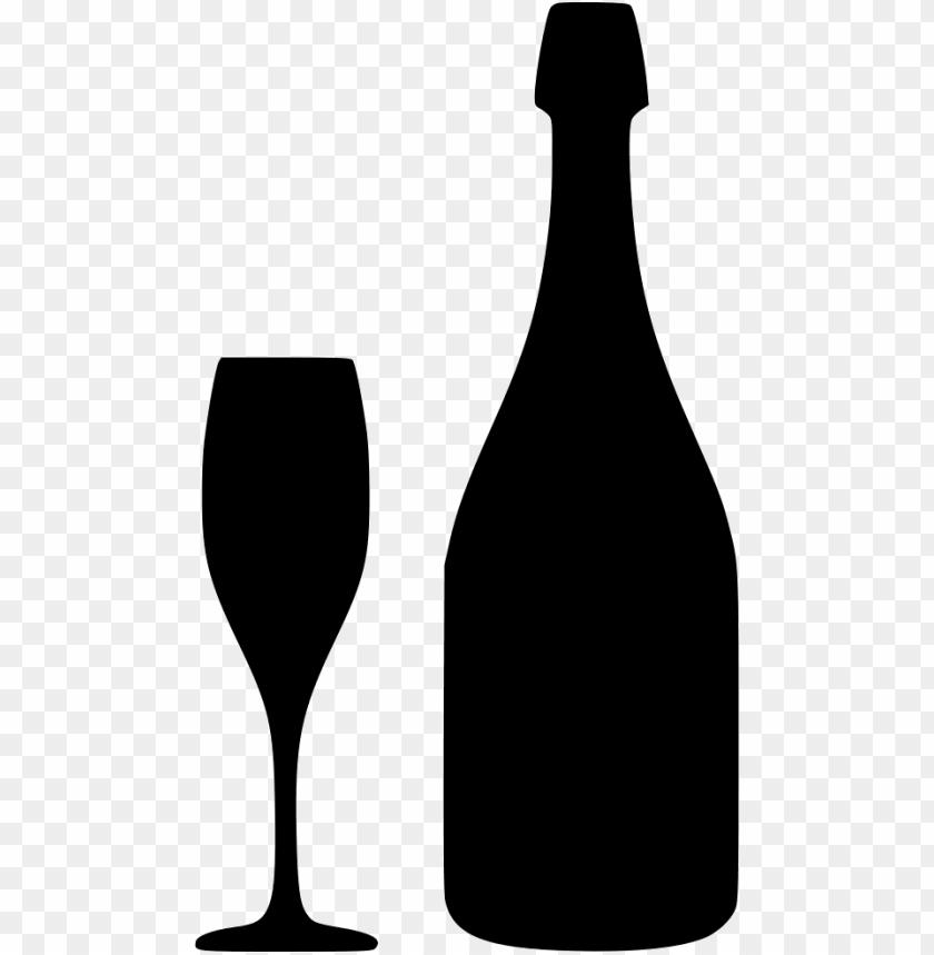 free PNG champagne bottle - - svg free wine bottle sv PNG image with transparent background PNG images transparent