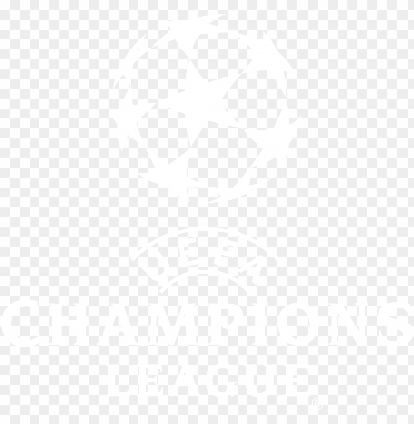 champions league logo png uefa champions league logo png white png image with transparent background toppng champions league logo png uefa