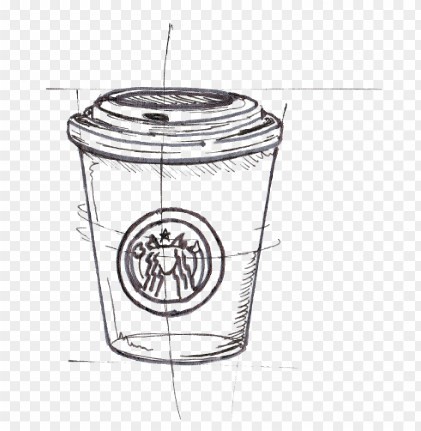 Chanel Drawing Starbucks Sketch Png Image With Transparent Background Toppng