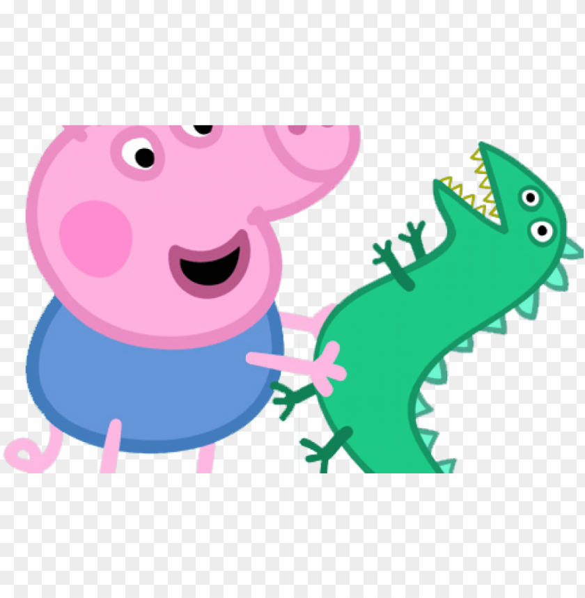 Characters Peppa Pig Photos George Pig Invitations Template Png