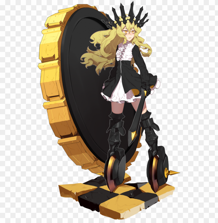 free PNG chariot by popblink - black rock shooter arcana render PNG image with transparent background PNG images transparent
