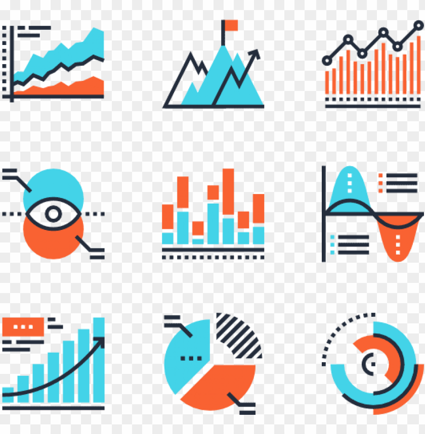 charts and diagrams digital marketing vector icon png image with transparent background toppng toppng