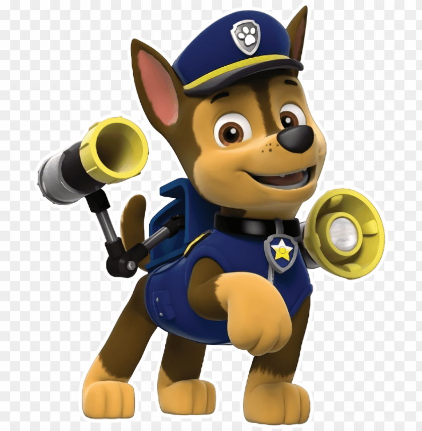 free PNG chase) paw patrol pups, paw patrol characters, paw - paw patrol birthday shirt 4 for boys PNG image with transparent background PNG images transparent
