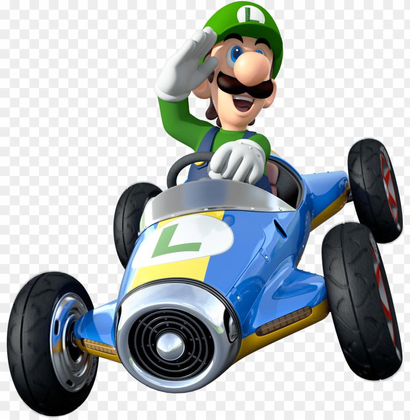 Cheap Luigi Artwork Alt Mario Kart Png With Decoration