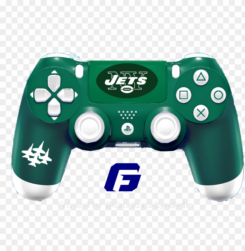 free PNG check out all my nfl ps4 controller concept new york - logos and uniforms of the new york jets PNG image with transparent background PNG images transparent