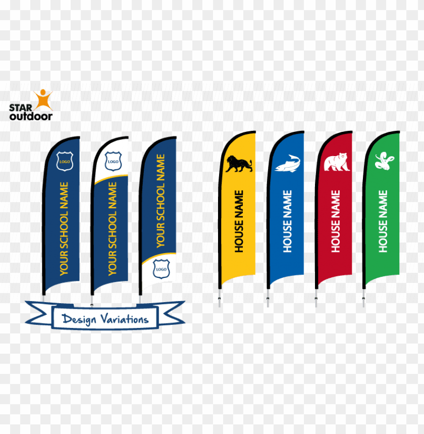 free PNG check out these great flag banner sample designs for - school sports house names PNG image with transparent background PNG images transparent