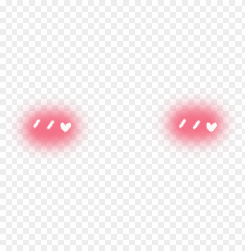 free PNG cheek blush hearts kawaii cheek heart blush anime cute - picsart png blush stickers PNG image with transparent background PNG images transparent