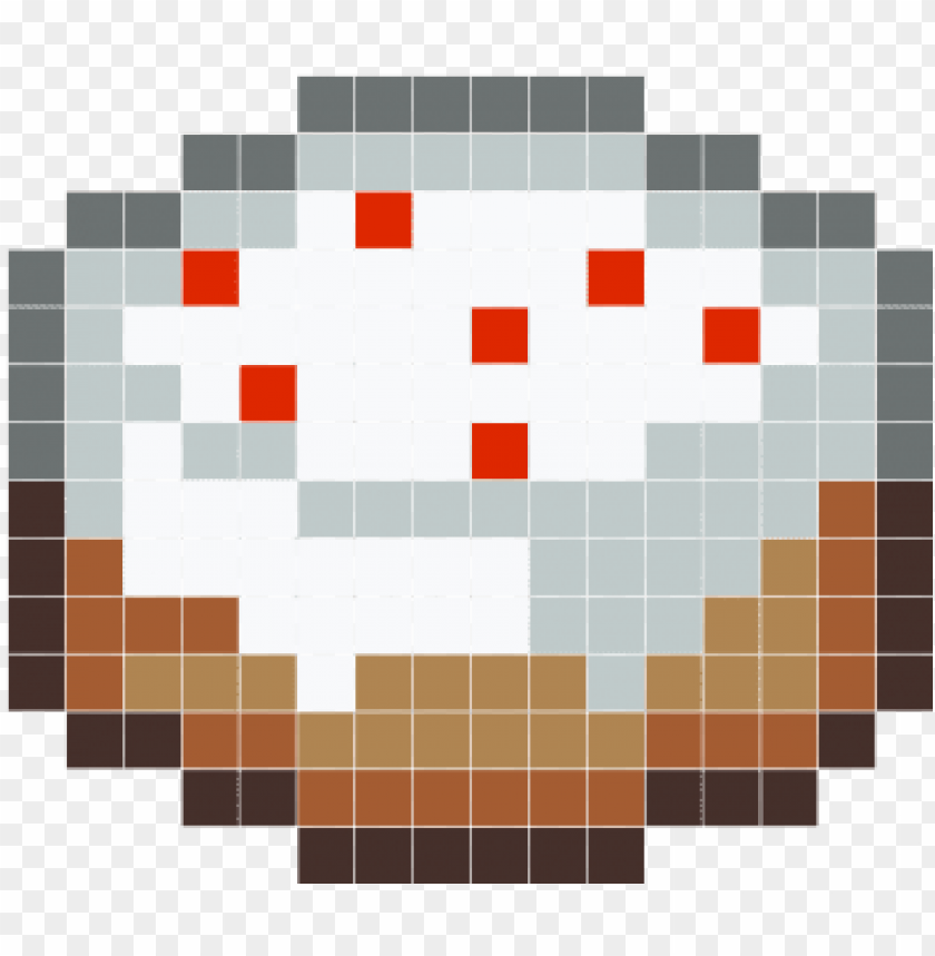 free PNG chery cake - gateau minecraft pixel art PNG image with transparent background PNG images transparent