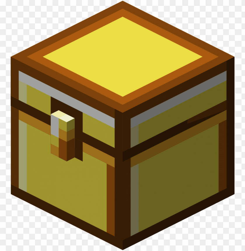 free PNG chest clipart minecraft - minecraft gold chest PNG image with transparent background PNG images transparent