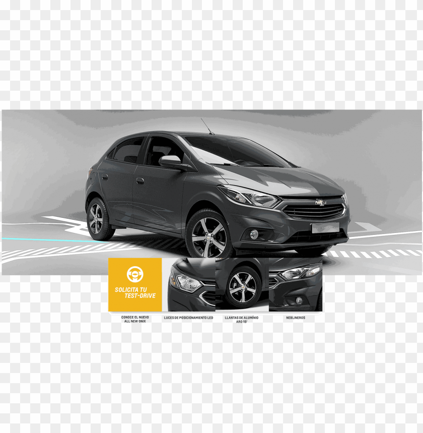 free PNG chevrolet onix es un auto con personalidad - onix con llantas deportivas PNG image with transparent background PNG images transparent