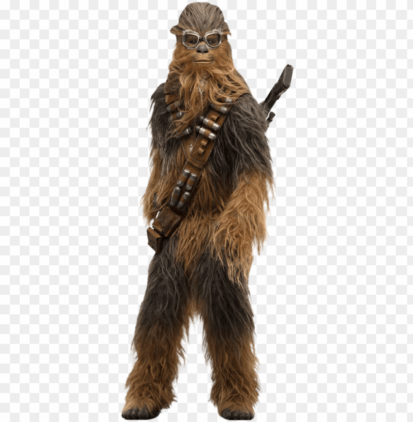 free PNG chewbacca solo a star wars story cut out characters - solo a star wars story cardboard cutout PNG image with transparent background PNG images transparent