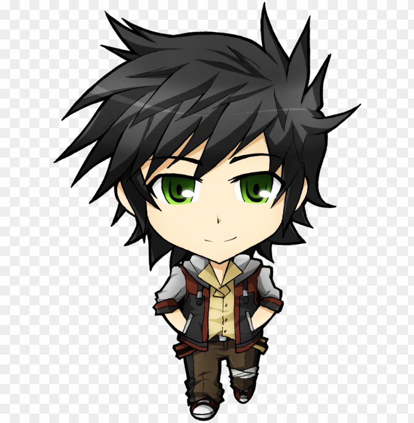 free PNG chibi anime boy png - anime characters chibi boy PNG image with transparent background PNG images transparent