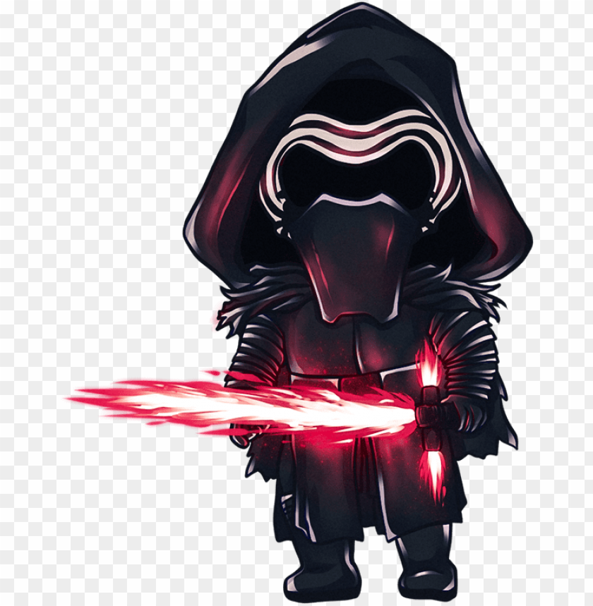 Chibi Kylo Ren By Tana Star Wars Chibi Png Transparent Png Image With Transparent Background Toppng