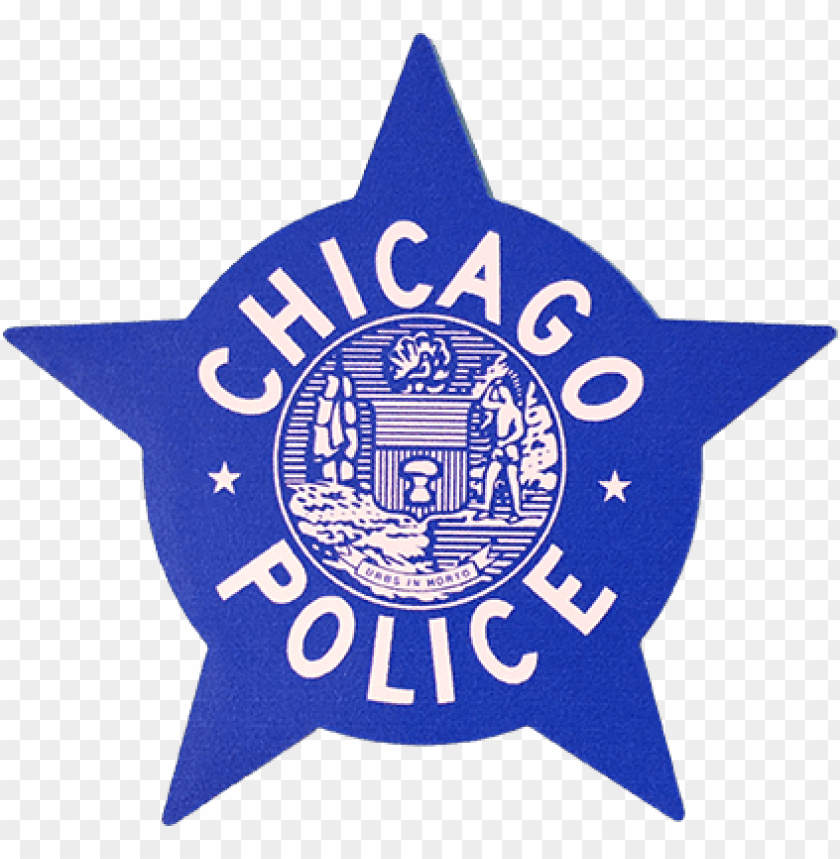 free PNG chicago police star 4″ decal - chicago police star PNG image with transparent background PNG images transparent