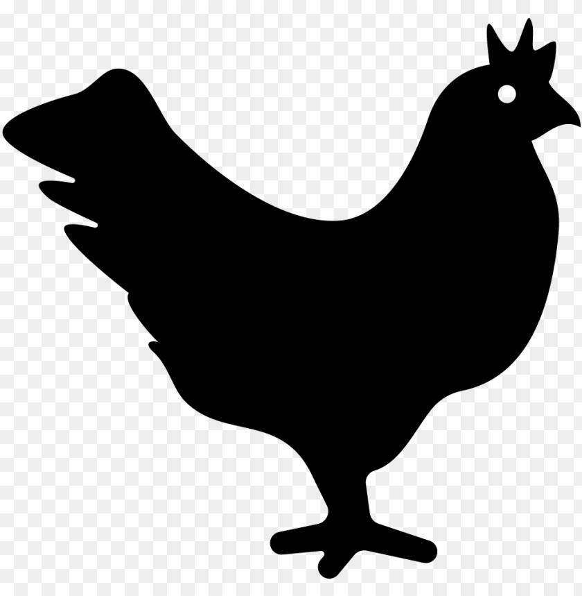Chicken Svg Icon Free Chicken Icon Png Free Png Images Toppng