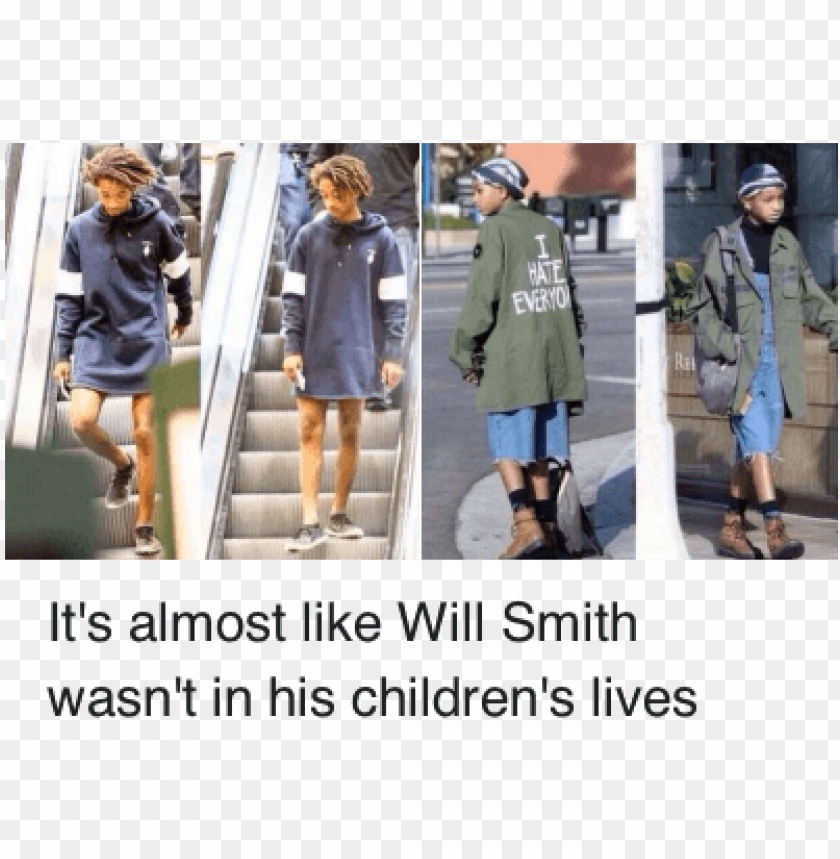 free PNG children, clothes, and jaden smith - will smith and jaden smith funny PNG image with transparent background PNG images transparent