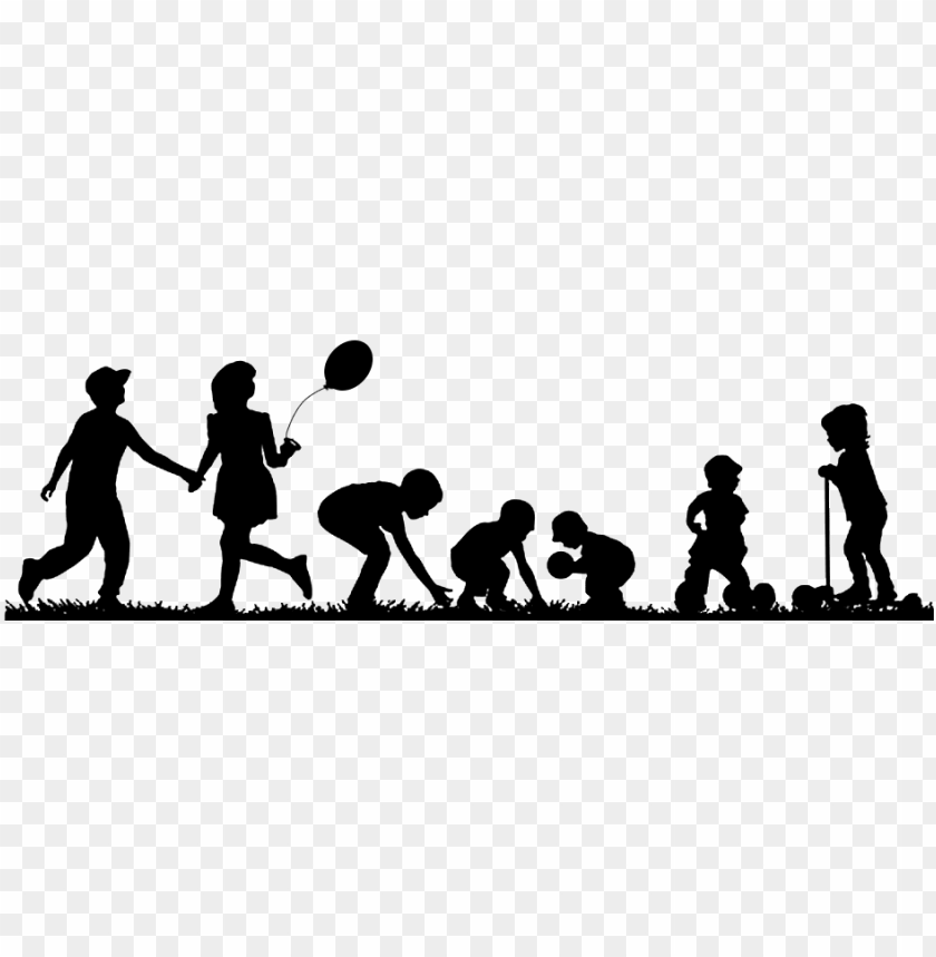 free PNG children playing silhouette png PNG image with transparent background PNG images transparent