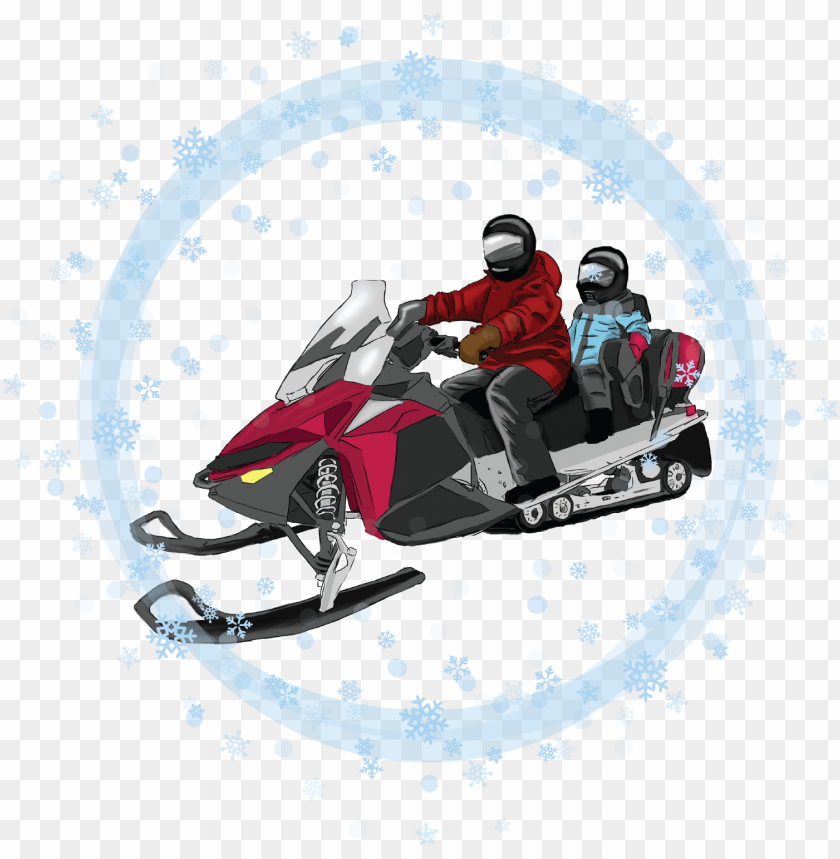 free PNG children's snowmobile & atv rides - luge PNG image with transparent background PNG images transparent
