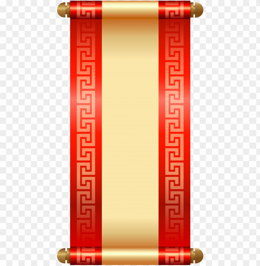 free PNG chinese scroll png clip art - chinese scroll clipart PNG image with transparent background PNG images transparent