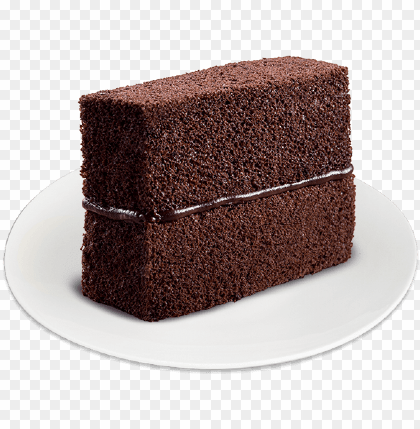 free PNG choco cake slice1 - chocolate cake PNG image with transparent background PNG images transparent