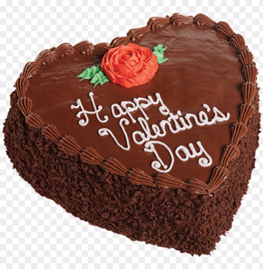 free PNG chocolate decadence heart cake - cake PNG image with transparent background PNG images transparent
